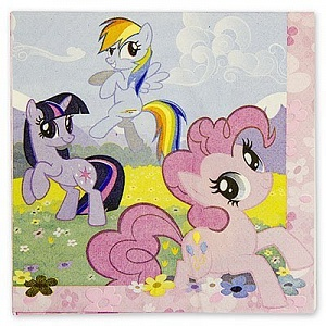 Салфетки My Little Pony 33 см (1502-1326)